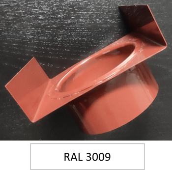 Picture of Downspout outlet RAL 3009 Ø 80