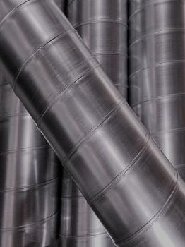 Imagem de Tubo Spiro galvanizado 0,5mmX3m Ø 110mm