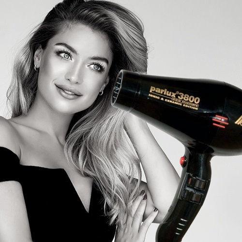 Imagen de Parlux 3800 Professional Hair Dryer 2100W (Black)