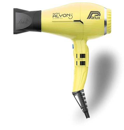 Imagen de Parlux Alyon Professional Hair Dryer with 2250W (Yellow) + Brushes OFFER