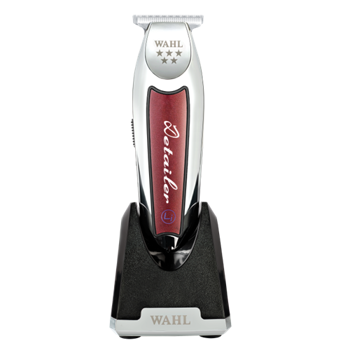 Picture of WAHL Detailer T Wide Cordless (wireless) Professional Contouring Machine, red