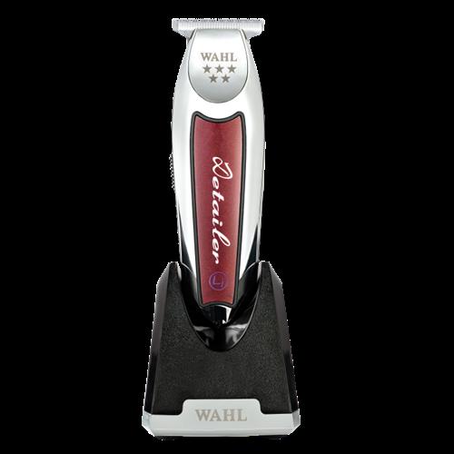 Imagen de WAHL Detailer T Wide Cordless (wireless) Professional Contouring Machine, red